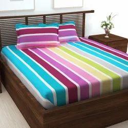 240 Tc棉纯棉双床床