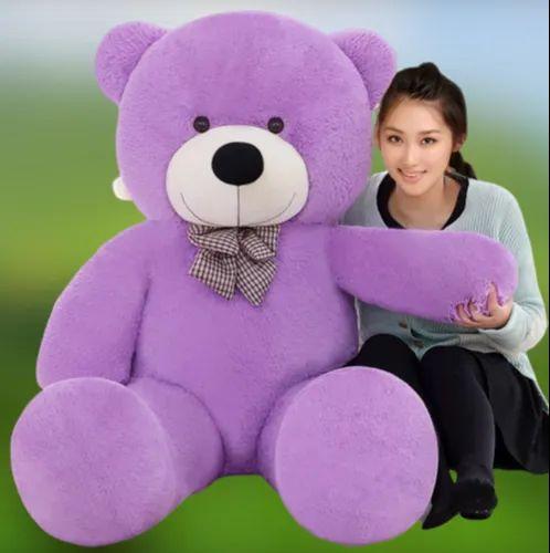 Teddy Bazar Soft Purple Teddy Bears Valentine Gift For Girlfriend 3 Feet At Rs 399 Piece Sultanpuri Delhi Id 21980297330