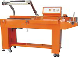 L- Sealer Pneumatic With Conveyor Semi- Automatic