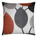 Multicolor 100% Cotton Cushion, Size: 40 X 40 Cm