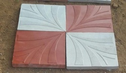 12X12 New Flower Tile Mould