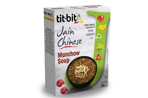 Tit Bit Manchow Soup, Packaging Size: 50 Gms, Packaging Type: Box