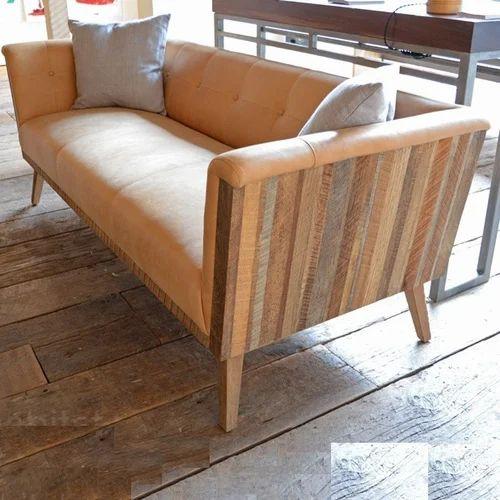 Natural Reclaimed Wood Sofa Rs 25000
