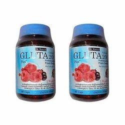 TK Natural Capsules Gluta 2000 Berry Pills, Packaging Type: Plastic Jar