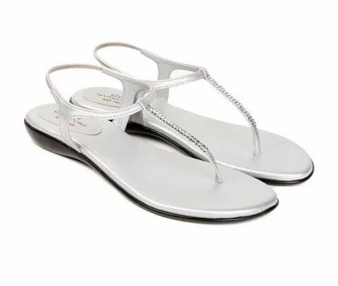 Synthetic Balujas Fiona Flats White Sandal