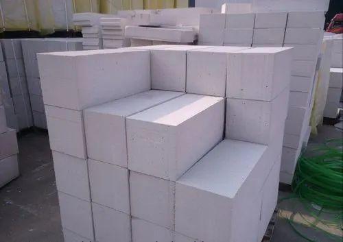 Rectangular Cellular Lightweight Concrete Block Size 100x200x600