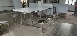 8 Seater SS 202 Grade Dinning Table