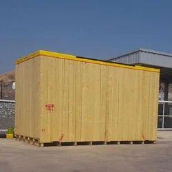 Heavy Duty Pinewood Box, Usage : Industrial Packaging