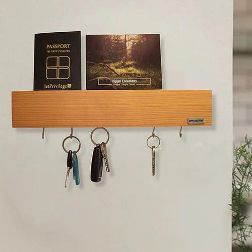 Wooden Key Holder Antique