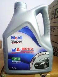 MOBIL SUPER MGDO 15W40, For Diesel Cars, Unit Pack Size: 3.5 Litres