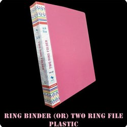 Plastic Two Ring Binder Folder