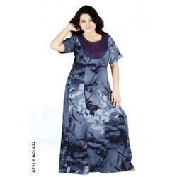 Women's Rayon Printed Nighty