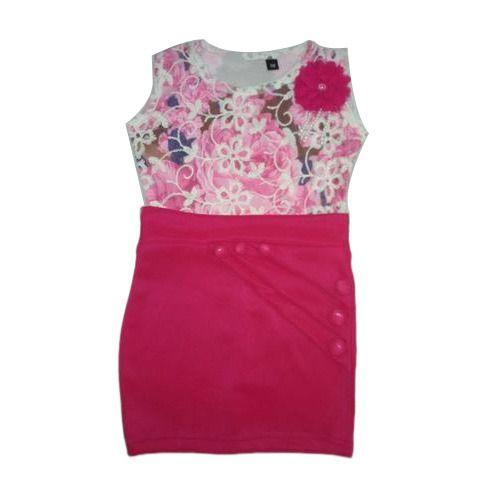 b77a09e30ff2 Lycra Cotton Baby Girl Stylish Midi