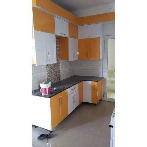 pvc l shape modular kitchen rs 1250 square feet as