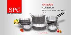 Aluminium Cookware Antique Aluminium Utensils, Model Number: Spc-at-019tospc-at-027, For Cooking Food