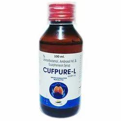 Levosalbutamol, Ambroxol HCL and Guaiphenesin Syrup