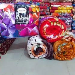 Blush Single Bed Mink Blanket