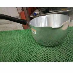 Silver Aluminium Saucepan, For Cooking