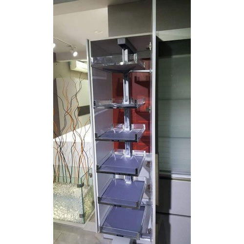 Ebco Stainless Steel Pull Out Kitchen Pantry Rs 35000 Set Majestic Kitchen World Id 20358587933