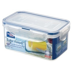 Lock & Lock 185 X 115 X 70 mm plastic butter box