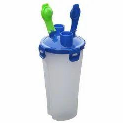 Plastic Dual Shaker Bottle