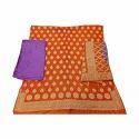 Ladies Gadwal Silk Dress Material