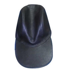 Mens Leather Cap