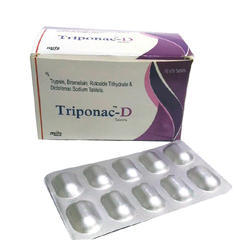 Trypsin Bromelain Rutoside Diclofenac  Allopathic Medicine