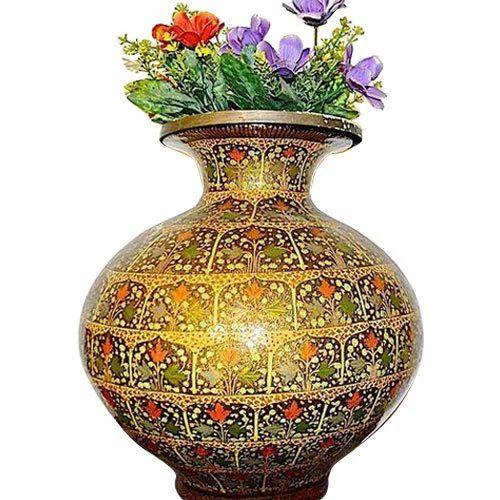 Paper Mache Vase At Rs 3000 Piece Kagaz Ki Lugdi Ka Hath Se Bane