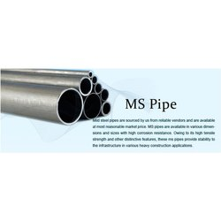 6 - 12 M Datashyne Mild Steel Pipe