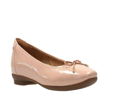 bcbb26355124 Clarks Daily Wear And Casual Candra Light Dusty Pink Shoes