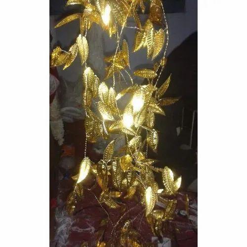 Golden Designer Brass Leaf