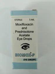 Moxifloxacin & Prednisolone