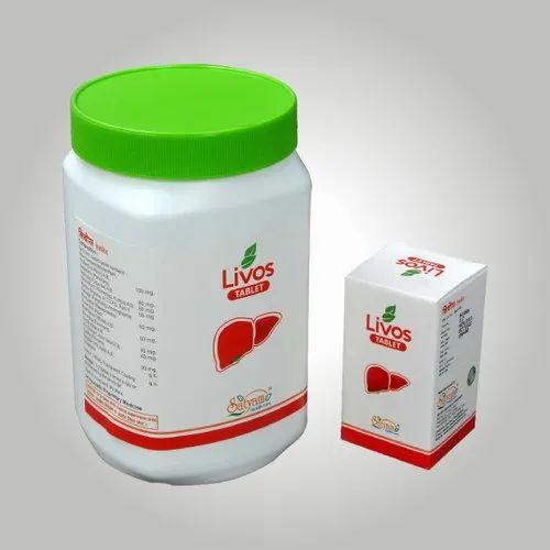 Herbal Liver Supplement Livos Tablets