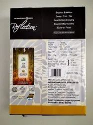 White Reflection Multipurpose Paper 80 Gsm, For Printer, Size: 210 Mm X 270 Mm