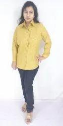 Multicolor Full Sleeve Women Ladies Girls Printed Shirt
