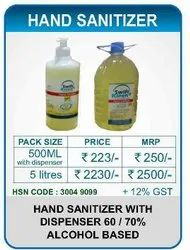 HAND SANITIZER LIQUID - 500 ML