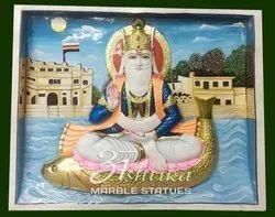 Bhagwan Jhulelal Marble Statue