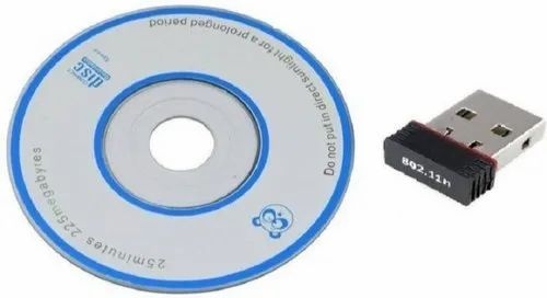 Flot 802.11n 2.4Ghz Wireless Wifi Dongle With CD USB Adapter, 802.11n RH-45