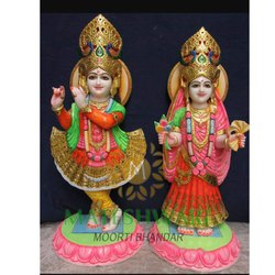Lord Marble Radha Krishna Statue