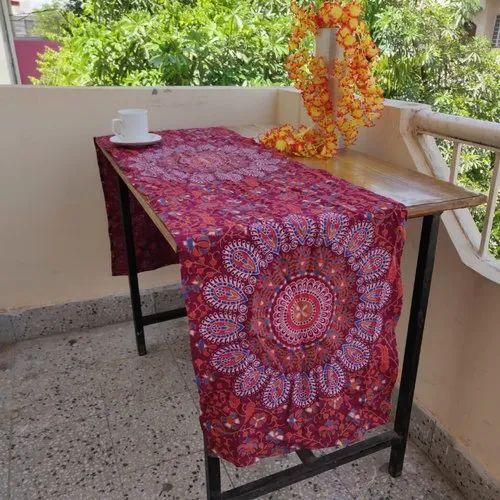 Beautiful Hand Block Print Table Cloth
