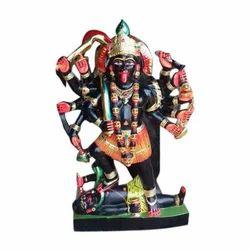 Colorful Marble Kali Mata Statue