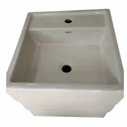 Ceramic Bathroom Wash Basin, Pack: Carton Box