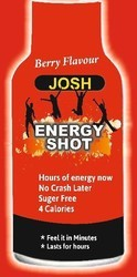 Energy Berry Shot Drink, Pack Type: Bottle