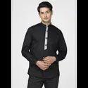 Green Hill Men's Designer Black  Shirt