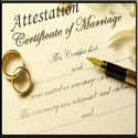 Marriage Certificate Services