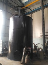 Mild Steel with Rubber Lining Vessel