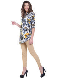 Printed Rayon Long Top