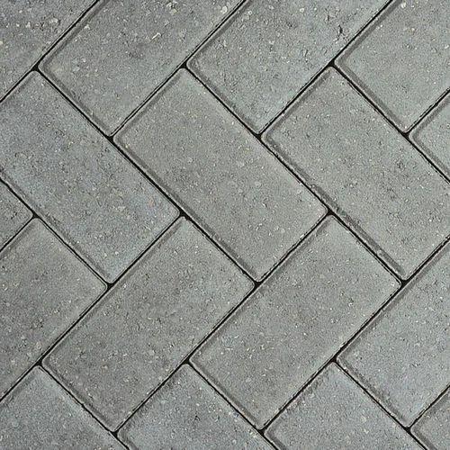 Red Grey Cement Concrete Concrete Interlocking Tile