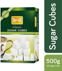 White Sugar Cubes, Packaging Size: 500 g